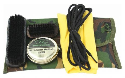 Highlander Tough Camo Boot Footwear Care Kit